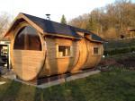 Sauna med omklædningsrum