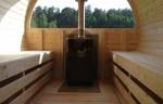 Sauna - Panorama vindue