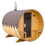 Udendørs sauna 2,5 meter - kampagne model