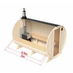 Sauna 3 meter