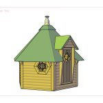 Sauna Hytte 8-10 pers.