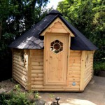 Sauna Hytte 10-12 pers.