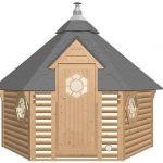 Sauna Hytte m. omklædning