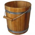 Håndlavet sauna spand XL